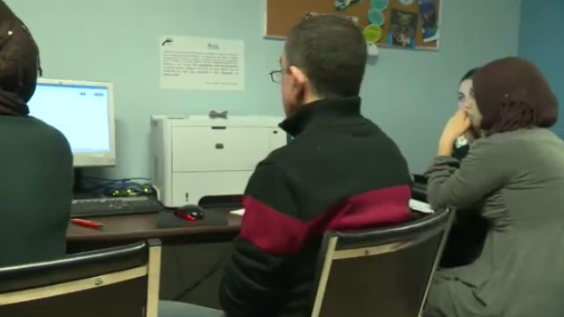 Students Immigration Computer